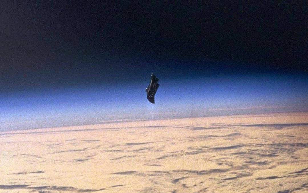 The Black Knight satellite is claimed to be an object approximately 13,000 years old of extraterrestrial origin orbiting Earth in near-polar orbitIn 1899 a signal was picked up by #NikolaTesla, coming from space. This signal was picked up again on various occasions in the 1920's by ham radio enthusiasts and there were many sightings by astronomers who watched and studied