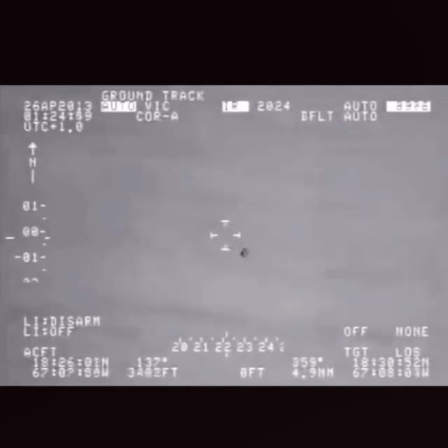 USOs are Unidentified Submerged Objects, or underwater ufos as many call them. 🛸 Many UFOs have been seen entering or exiting the ocean at incredible speeds with ease, like this FLIR video recording allegedly leaked from homeland security, Puerto Rico, which tracks one such sighting. . . Video via: @dailydoseufo