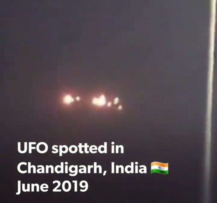 Interesting UFO spotted in Chandigarh, India from 2019. What do you think? 🤔 @advocates_of_disclosure #disclosure🛸