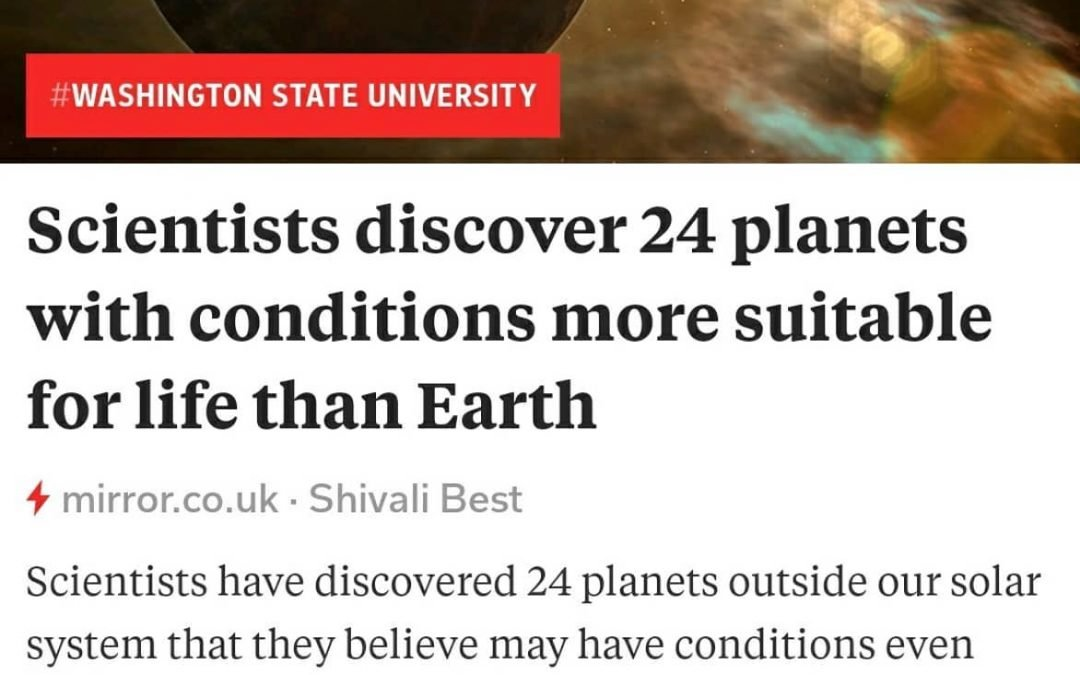 24 planets potentially MORE suitable than earth for life!