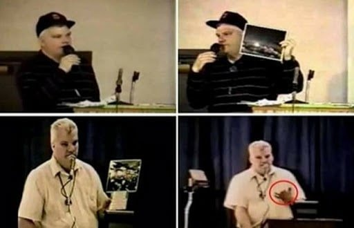 Phil Schneider's story is one of the most shocking encounters with Aliens, as they shot his dam fingers off and almost blew a hole in his chest and a delta force soldier gave his life to save him. Only to have TPTB murder Phil in his own home years later after he spoke out, and covered it up as suicide