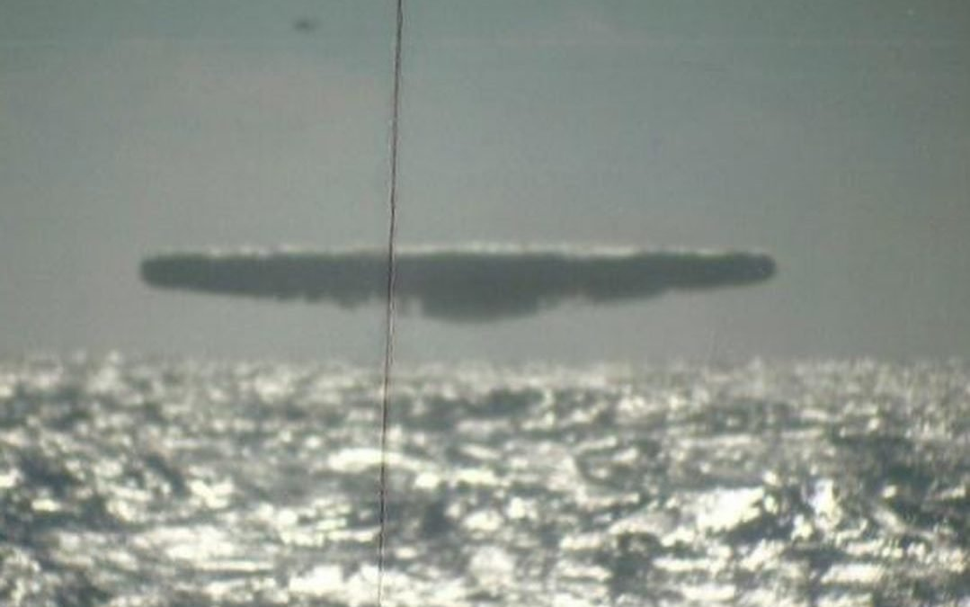Arctic UAP Photos, USS Trepang, 1991