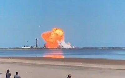 SpaceX Starship test landing crash and explosion (nobody on board don't worry).  Pretty epic! Looks like they sure could use some of that anti-grav tech right about now! 🤔 Apparently even the very successful Falcon rocket had many crashes along the way, so this is all in good fun for their research to get it right. Think they'll stick