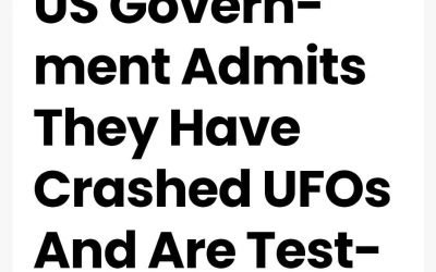 """US Government accidentally reveals their experiments with an advanced alien metal alloy called """"memory metal"""" from """"Nitinol"""" which may have come from the crashed Roswell craft and/or other similar crashes where they recovered the craft materials. @gfrobot"""