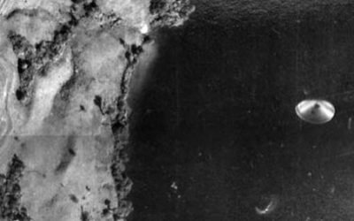 Photo of UFO taken by the Geographic Department of Costa Rica 1971