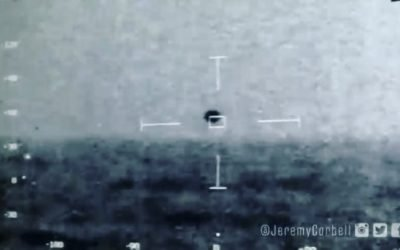 USS OMAHA – most recent UFO footage release was confirmed by Pentagon and Navy, and shows the UFO / USO pace along with their ship and then go into the Ocean. Taken by crew members of the USS Omaha in the CIC (command center inside the ship). Thanks to @jeremycorbell for another successful FOIA request for more tangible proof that
