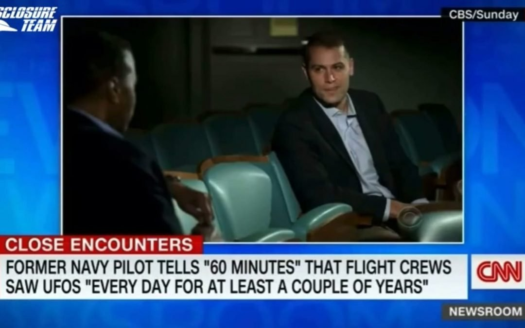 Best part of 60 Minutes' interview with the pilot was when he said he saw ufos almost EVERYDAY for over two years! And he's just one pilot. They must have THOUSANDS of sightings a year that they are iron secret by default!