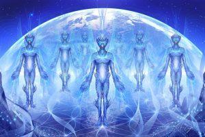 Blue Avian Aliens